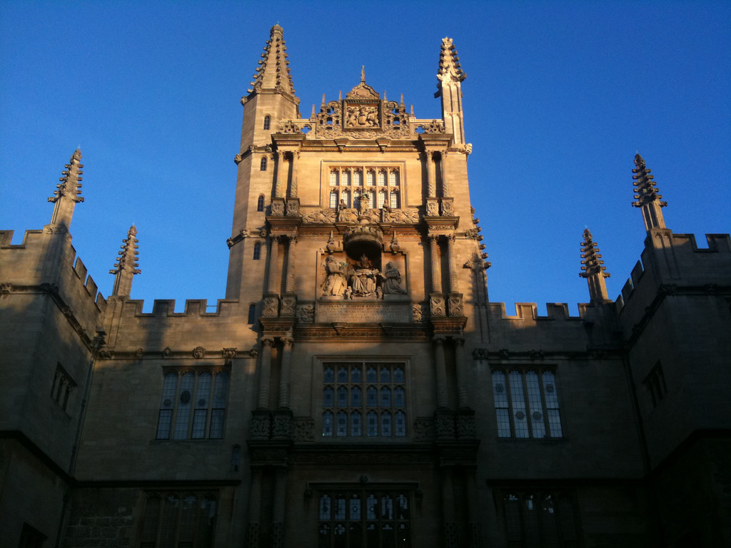 Bodleian   Tower of the Five Orders   2