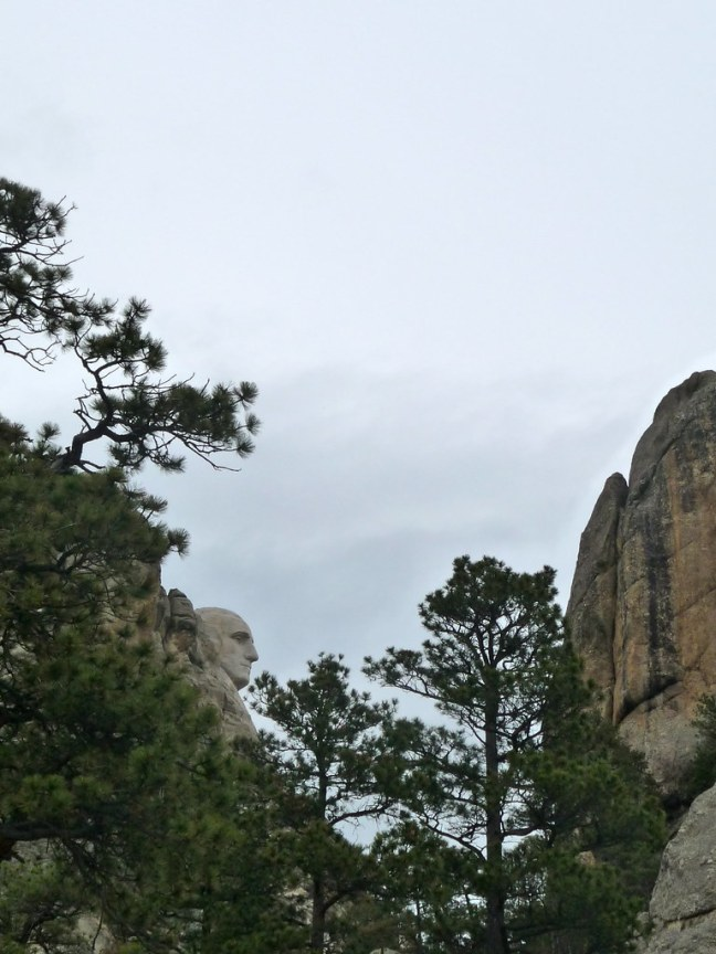 A different view of Mount Rushmore