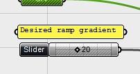 Set the gradient