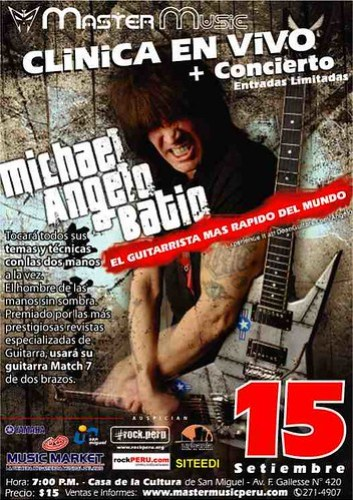 Michael Angelo Batio poster