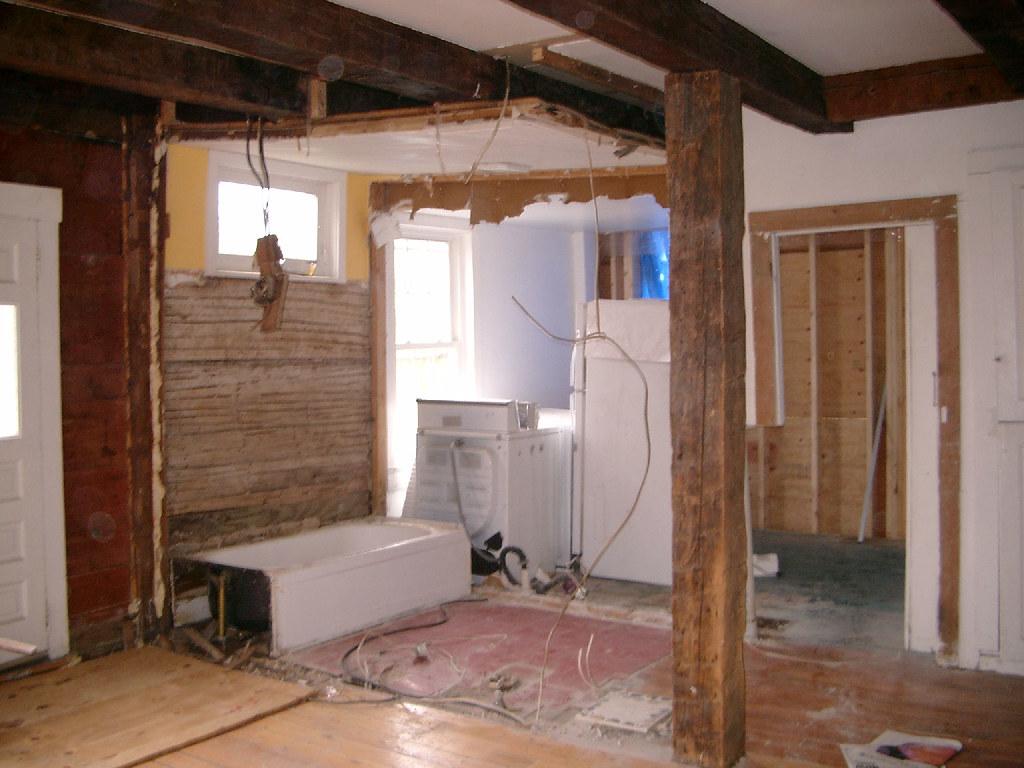 Kitchen Walls Gone - 1