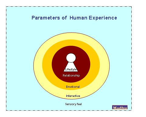Parameters for human experience