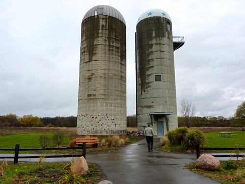 Silos at Roselle Park