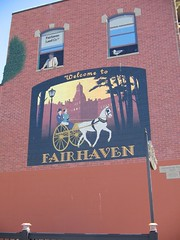 Cool Painting on the side of a building in Fairhaven