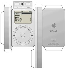 iPod de cartón
