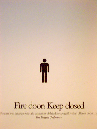 Fire door in Canberra