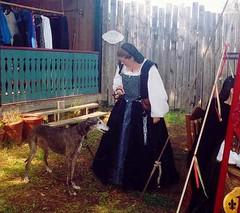 Lady Anna and Liz'beth