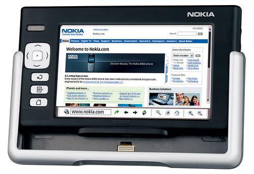 [Photo de Nokia 770]