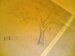 Drawing under floor