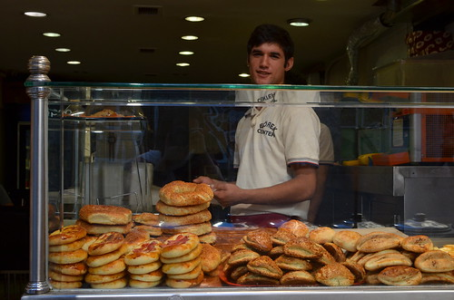 Pastry seller in Istanbul