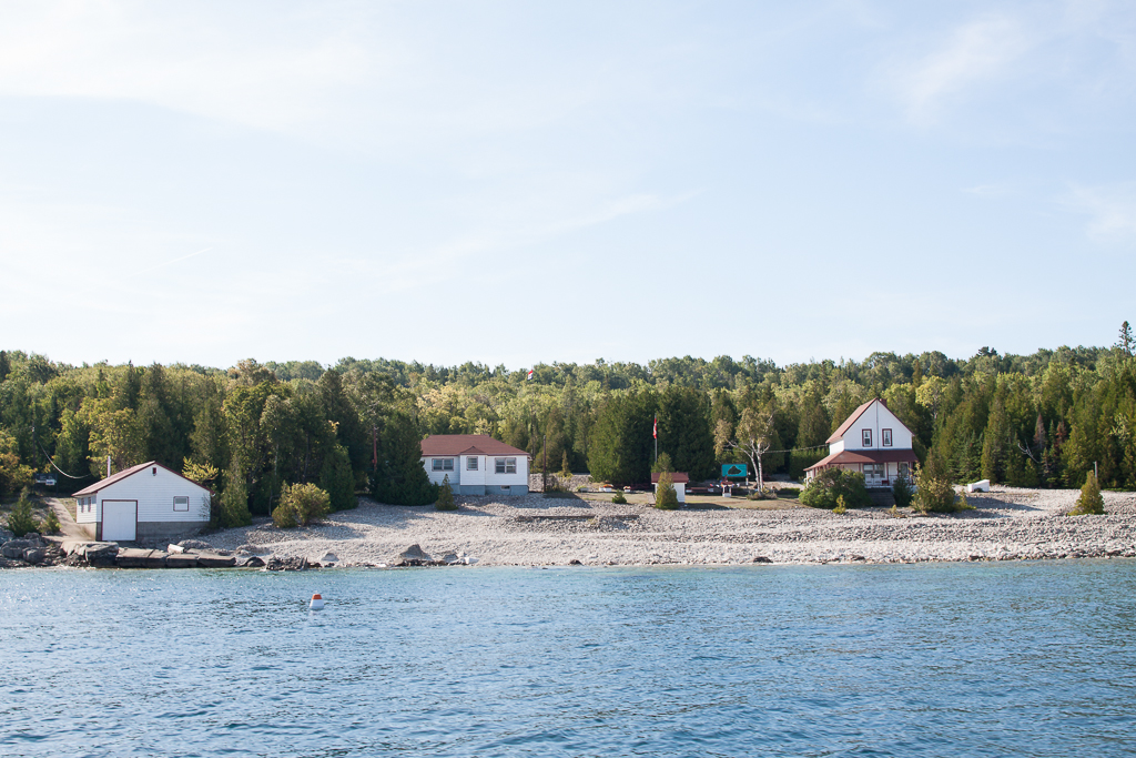 The Lighthousekeepers house