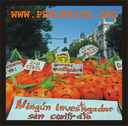 Manifestación de naranjas Madrid 2