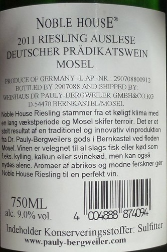 Mosel Riesling Auslese