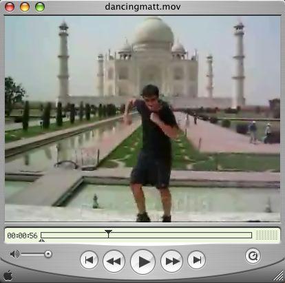 Dancing Matt