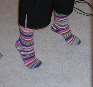 Magic Stripes Socks 3
