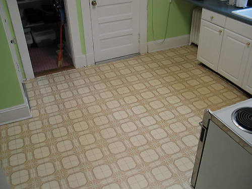 Kitchen Floor, beginning