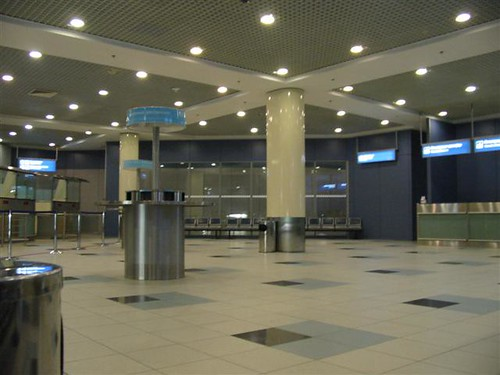 Domodedovo airport Transit Area
