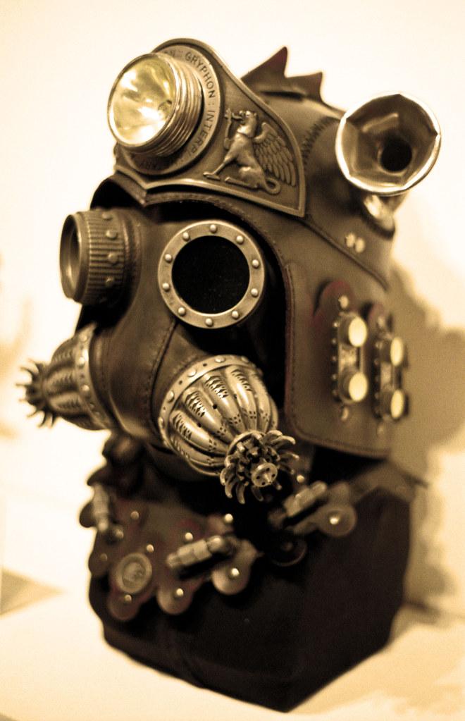 Steampunk mask | Sepia