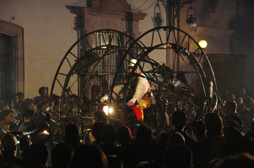 Zacatecas 7 - generik vapeur - 12 - Bike on a wheel
