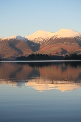 Skiddaw in the Snow