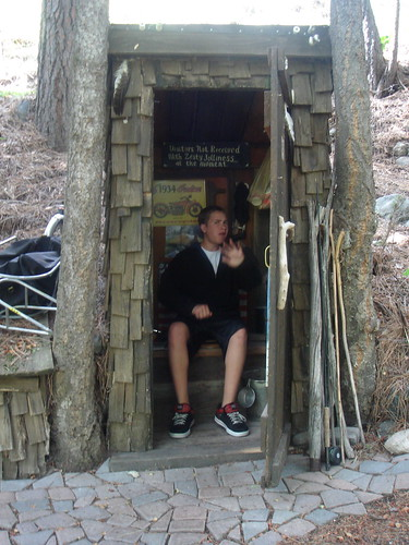 Jack in the outhouse