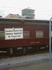CP Train in Gastown