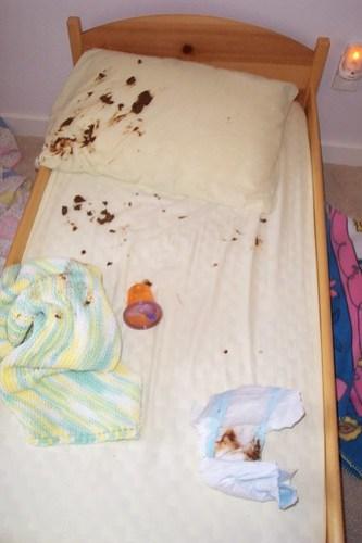 Poop Bed