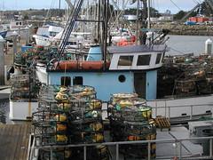 Crab fishing boats at Half Moon Bay