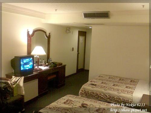 鎮寶大飯店房間