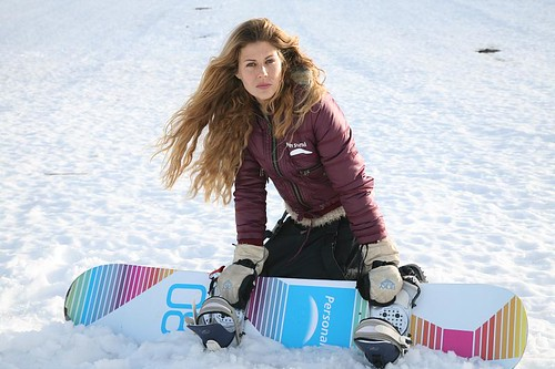 Marina Marre invitada por Personal en Bariloche