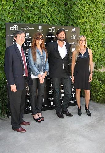 Alejandro Cerviño, Millie Stegman, Federico Álvarez Castillo y Virginia Elizalde
