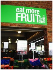 eat more fruit! A marketing message!