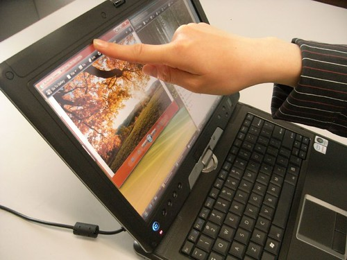 Touch In-use image