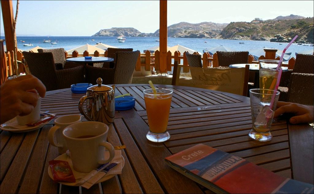 Agia Pelagia cafe