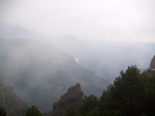 """""""Vistas"""" hacia Guadalest"""