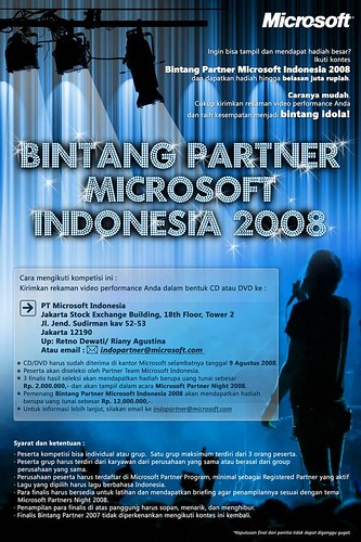 Microsoft Indonesia - Partner Idol