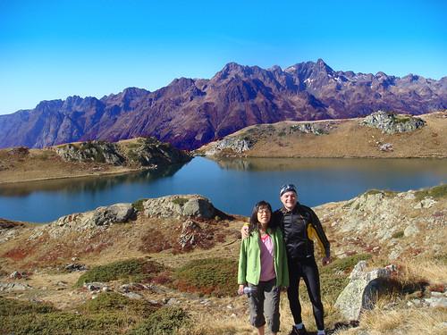 Lac Noir above Alpe d'Huez