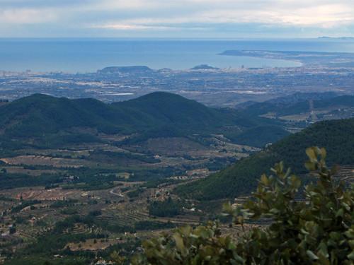 Alicante desde Els Plans