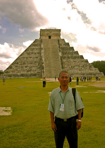 Ayah in Chichen-Itza