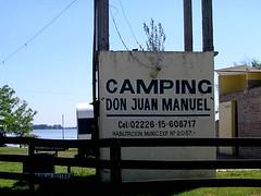 El camping del rosismo
