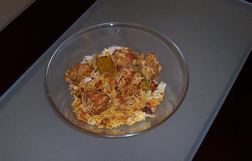 Meatball Biryani