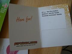 firebox.com sent over some stuff - thanks!