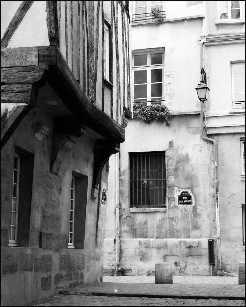 Medieval building, Paris
