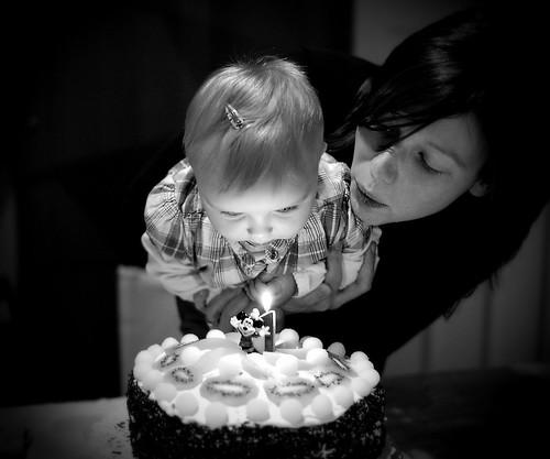 Mijn eerste verjaardag