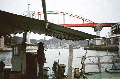 日本一短い渡し舟