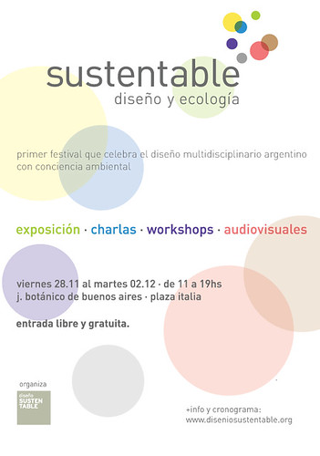 e-flyer Diseño Sustentable