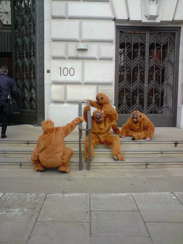 Greenpeace Protest @ Unilever London[03]