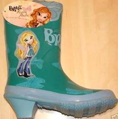 Bratz high heeled Wellington boots