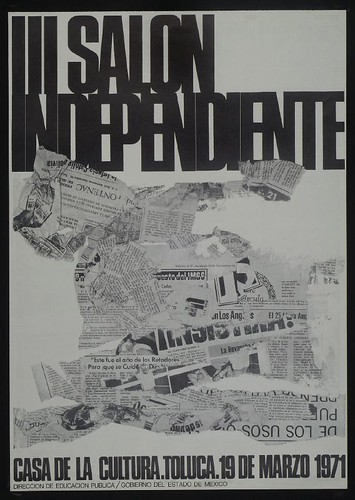 Cartel III Salon Independiente, segunda version, 1971