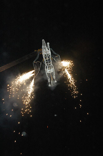 Zacatecas 7 - generik vapeur - 21 - Horse spewing fire on crowd